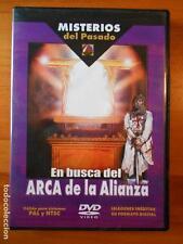 DVD EN BUSCA DEL ARCA DE LA ALIANZA - MISTERIOS DEL PASADO 1 (Y3)