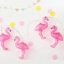 Flamingo LED Bulb Romantic String Light Battery Opetated Party Decor 1.5m 10Leds