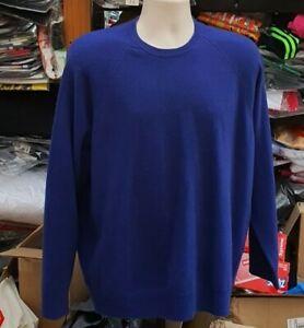 RRP £228 FW18 Supreme Cashmere dark royal Sweater size L large