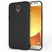 Silicone Case For The New Samsung Galaxy J5 2017 Solid Matte Flexi TPU Gel Cover