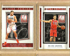 Blake Griffin -2 Card Lot-1 2015-16 Elite+1 2015-16 Extra-Mint Condition-Pistons