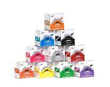 2 Rollen Nasara® Kinesiology Tape 5 cm x 5 m Sporttape Kinesiologie Tape Farbmix