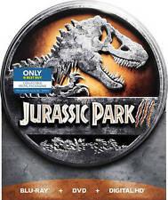 Jurassic Park III Blu-ray/DVD, Includes Digital Copy Steelbook - Small Dent