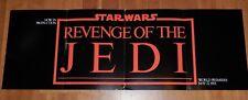 STAR WARS 1982 REVENGE OF THE JEDI PRE-RELEASE PROMO POSTER FOLDOUT 'RETURN'