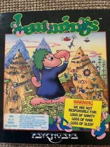 LEMMINGS 1991 ORIGINAL PC GAME
