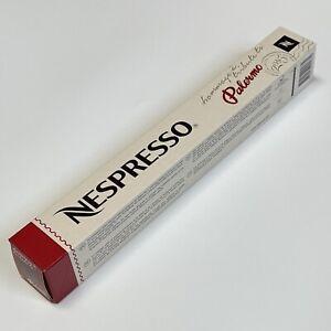 Nespresso TRIBUTE TO PALERMO Capsules Limited Coffee Espresso ORIGINAL OL Pods