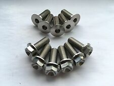 Titanium Front + Rear Brake Disc Bolts Aprilia RS 125 RS125 1999-2010 2006 2008