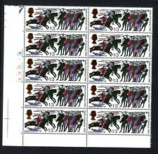 More details for 1966 battle of hasting club flaw error mistake sg 712b  mnh block 10 stamps