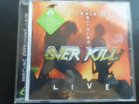 OVERKILL   -   WRECKING  EVERYTHING   -  LIVE  , CD  2002 , METAL , ROCK , TRASH