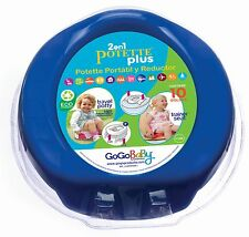 Portable Potty and Trainer Seat Potette Plus - NEW +10 Disposable Bags Included