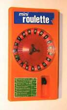Mini Roulette vintage handheld game from 1970s