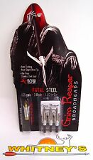 "Grim Reaper Fatal Steel Crossbow Broadheads - 125 Grain 1 1/2"" Cut - #1313"