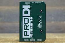 Radial Engineering ProDI Single-Channel (Mono) Passive Instrument Direct Box