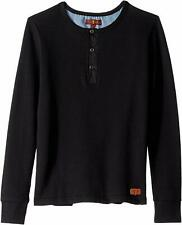 7 For All Mankind Boys' Thermal Henley Tee Size 7