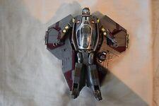 2005 Hasbro Star Wars Obi Wan Kenobi Jedi Star Fighter Transformer SW-361