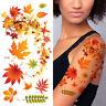 Supperb® Temporary Tattoos - Autumn Leaves maple leaves leaf Tattoo