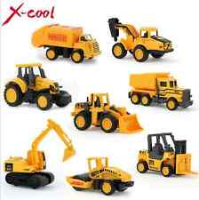 Diecast Mini construction Engineering Car Dump car Dump Truck 6 Pcs For Kid Toy