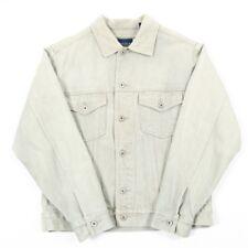 VGC 90s Vintage NAUTICA Light Denim Jacket | Mens S | Retro Jean Jeans Nineties