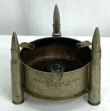 1947 Us Army Named Ludwigsburg Germany Trench Art Ashtray
