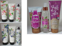 Bath & Body Works Creamy Wash Cream Fragrance Mist Lot Set of 3 u pick scent