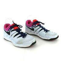 Nike Mens Air Zoom Vapor X HC Tennis Shoes AA8030-401 Blue White Size 10