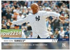 2019 Topps Now Yankees Honor Mariano Rivera for Hall of Fame Induction #702