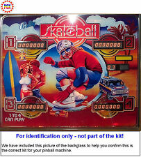 1980 Bally Skateball Pinball Machine Rubber Ring Kit
