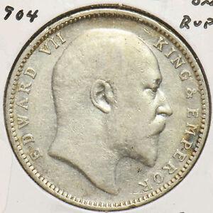 India British 1904 Rupee Edward VII 293039 combine