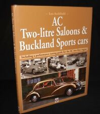 AC TWO-LITRE SALOONS & BUCKLAND SPORTS CARS HARDBACK BOOK COACHBUILDER 2002