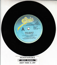 "RICKY SKAGGS  Heartbroke 7"" 45 rpm vinyl record NEW RARE! + jukebox title strip"