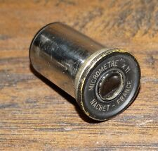 14991/ Vintage NACHET PRISM MICROSCOPE EYEPIECE~ micrometre X 11 ~ France