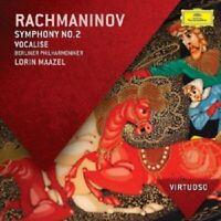 BPO/MAAZEL - SINFONIE 2/VOCALISE  CD NEW RACHMANINOFF,SERGEJ