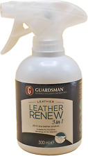 Guardsman Leather Renew 3-in-1 Protectant Spray Clean - Moisturise – Protect – &