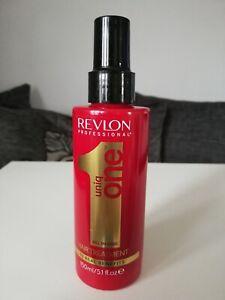 REVLON PROFESSIONAL UNIQ ONE..ALL IN ONE HAIR TREATMENT 150ML BOTTLE..NEW