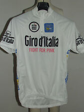 MAGLIA BICI CICLISMO SHIRT MAILLOT CYCLISM SPORT BIANCA GIRO D'ITALIA tg. XXL