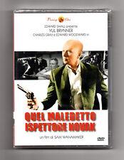 QUEL MALEDETTO ISPETTORE NOVAK DVD SAM WANAMAKER YUL BRINNER Charles Gray