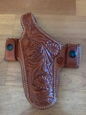 El Paso Saddlery .45 Floral Belt Holster