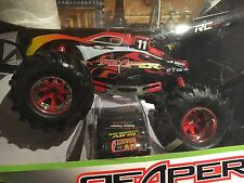 New Bright Rc Remote Controlled Dune Buggy Reaper Red Flames Model 81020 #469