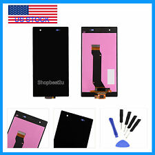 LCD Screen Touch Digitizer Replace For T-Mobile Sony Xperia Z1S L39T C6916 Black