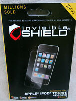 ZAGG Invisible Shield Screen Protector For Apple, iPod Touch 4th Gen. ~ NEW