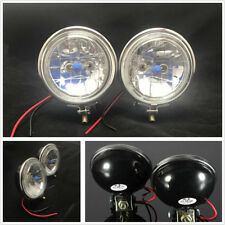 "2 Pcs 3.5"" 100W Car Truck Halogen Headlight Daytime Running Lights Fog Lamps 12V"