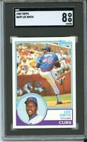 1983 Topps #699 Lee Smith SGC 8 NM-MT~New Slab~2nd Year Card~(COMP TO PSA)