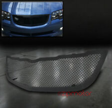 04-08 CHRYSLER CROSSFIRE FRONT UPPER STAINLESS STEEL MESH GRILLE GRILL BLACK 1PC
