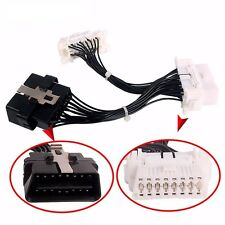 Cable OBD OBD2 16Pin Extension & Splitter for ELM327 Car Diagnostic Male/2Female