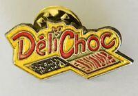 Deli Choc Brand Advertising Pin Badge Rare Vintage (C18)