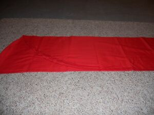 Tablecloth liner red oval 55x96