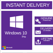 Win 10 Professional 32/64 bit Genuine License Key Fast delivery✅