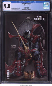 King Spawn #1 2021 CGC 9.8 - Todd McFarlane variant cover B