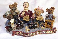 Boyds Bears T.H. B. Work is Love Made Visible Bearstone 5th Ann 1998 #227803 Nib