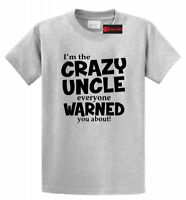 Crazy Uncle Everyone Was Warned About Funny T Shirt Cute Holiday Gift For Uncle